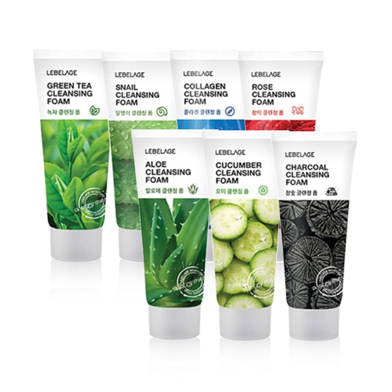 Own label brand, [LEBELAGE] Cleansing Foam 7 Type 100ml (Weight : 133g)