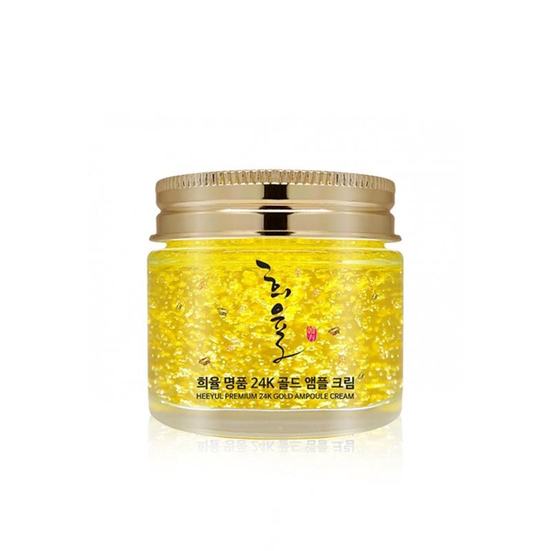 Own label brand, [LEBELAGE] Heeyul Premium 24K Gold Ampoule Cream 70ml (Weight : 222g)