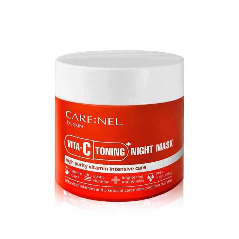 Own label brand, [CARENEL] Vita-C Toning Night Mask 80ml (Weight : 212g)