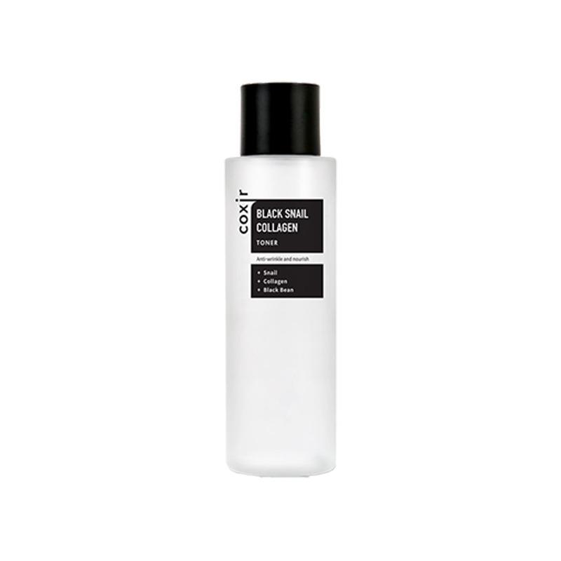 Own label brand, [COXIR] Black Snail Collagen Toner 150ml (Weight : 208g)