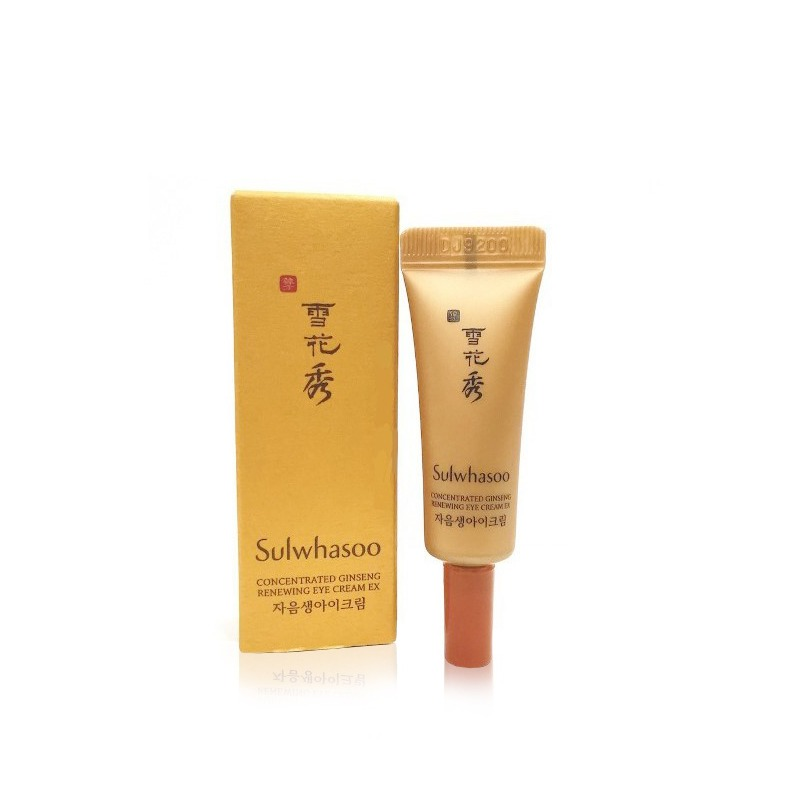 Own label brand, [SULWHASOO] Concentrated Ginseng Renewing Eye Cream EX 3ml [sample] (Weight : 7g)