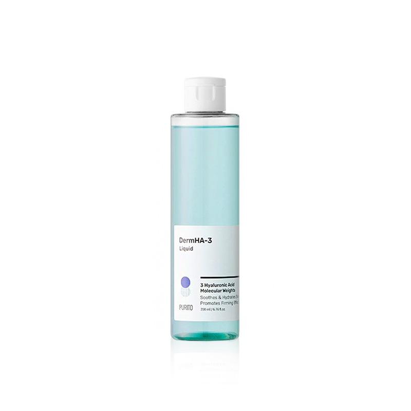 Own label brand, [PURITO] DermHA-3 Liquid 200ml (Weight : 261g)
