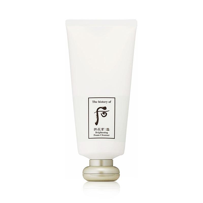 Own label brand, [WHOO] Gongjinhyang : Seol Brightening Foam Cleanser 180ml (Weight : 258g)