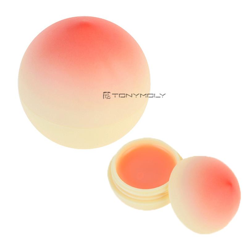 Own label brand, [TONYMOLY] Mini Peach Lip Balm 7g (Weight : 20g)