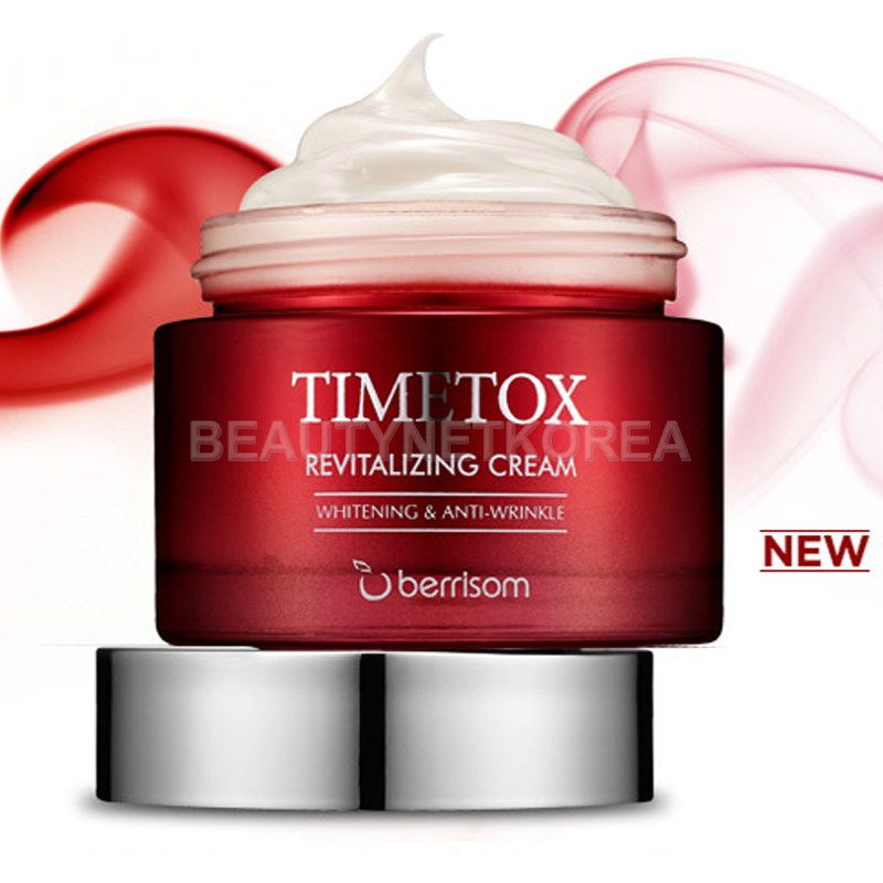 Own label brand, [BERRISOM] Timetox Revitalizing Cream 50g  (Weight : 225g)
