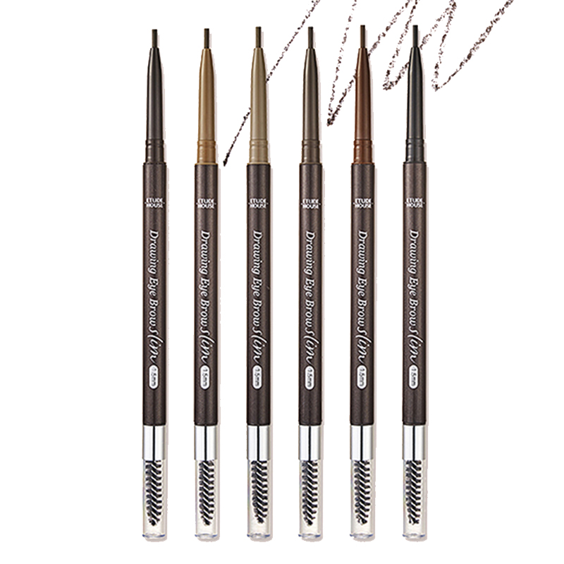 Own label brand, [ETUDE HOUSE] Drawing Slim Eyebrow 1.5mm 0.05g 6 Color (Weight : 12g)