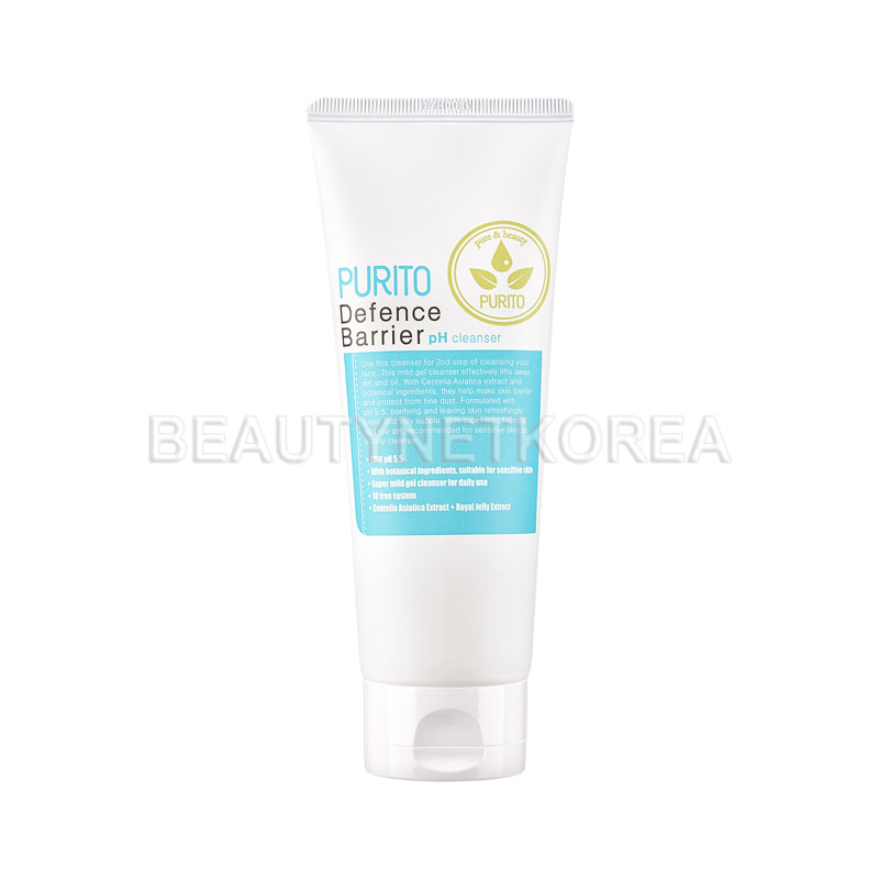 Own label brand, [PURITO] Defence Barrier Ph Cleanser 150ml (Weight : 180g)