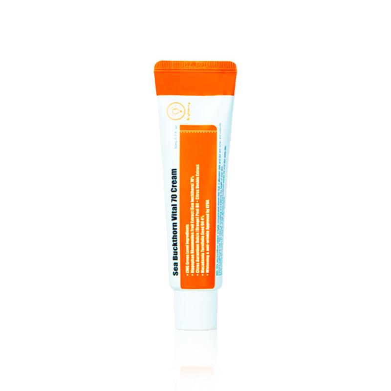 Own label brand, [PURITO] Sea Buckthorn Vital 70 Cream 50ml (Weight : 75g)