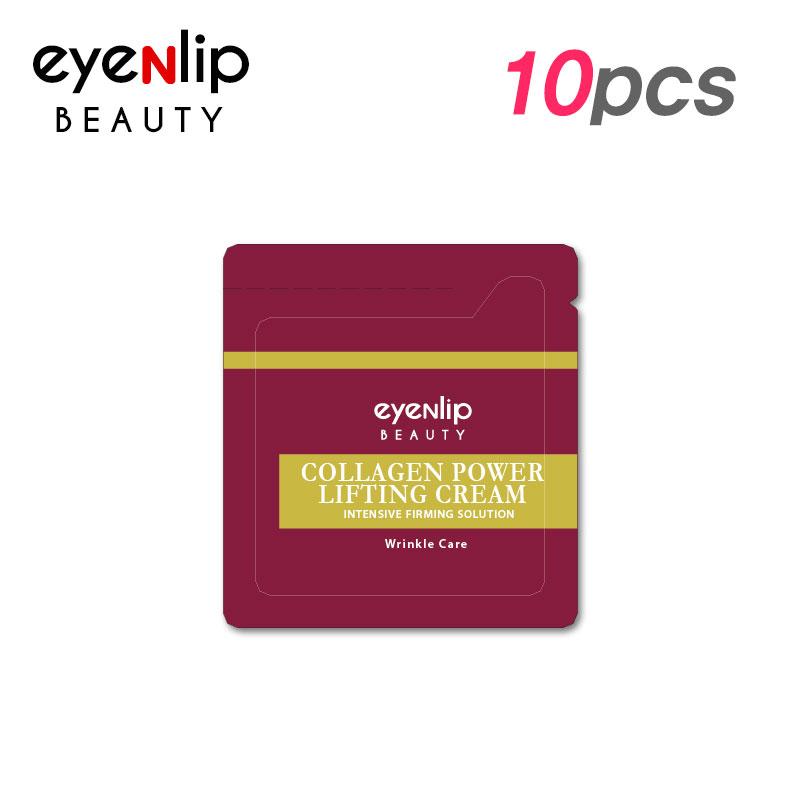 Own label brand, [EYENLIP] Collagen Power Lifting Cream 1.5ml * 10pcs [Sample] (Weight : 24g)