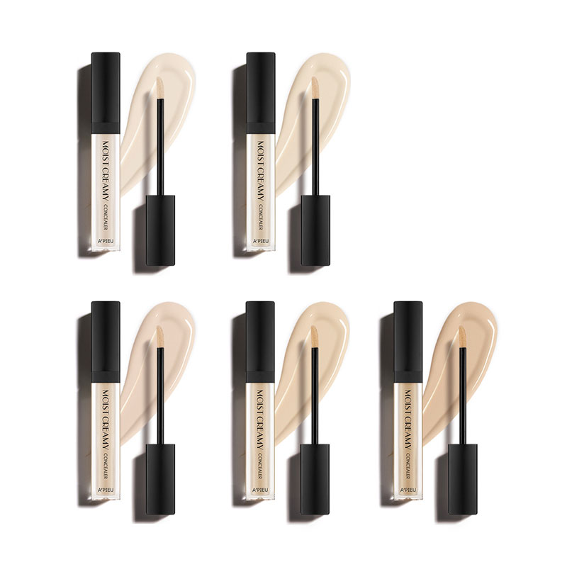 Own label brand, [A'PIEU] Moist Creamy Concealer (SPF30/PA++) 7g 5 Color  (Weight : 18g)