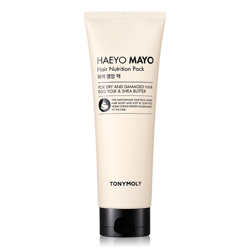 Own label brand, [TONYMOLY] Haeyo Mayo Hair Nutrition Pack 250ml (Weight : 291g)