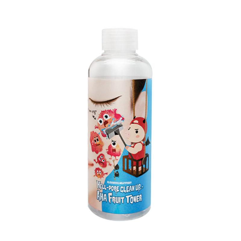 Own label brand, [ELIZAVECCA] Milky Piggy Hell-Pore Clean Up Aha Fruit Toner 200ml (Weight : 256g)