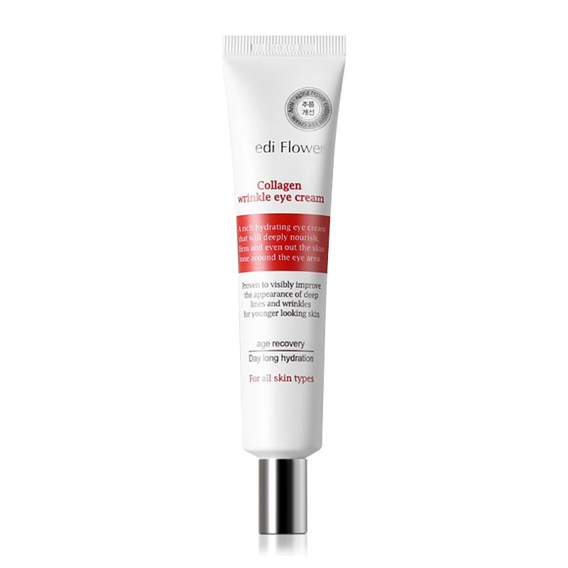 Own label brand, [MEDI FLOWER] Collagen Wrinkle Eye Cream 40ml (Weight : 59g)