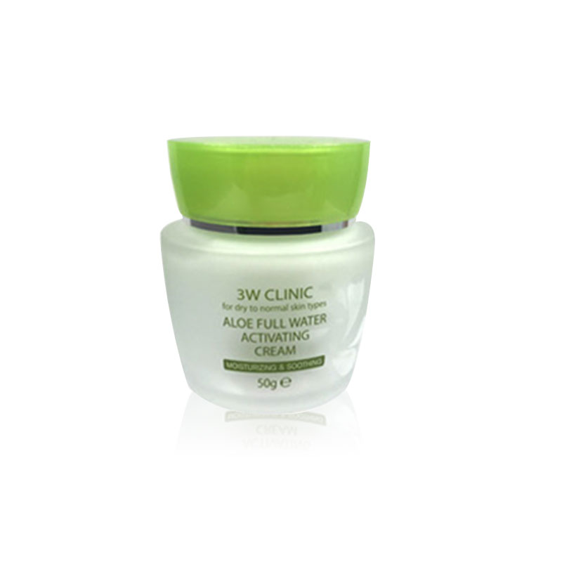 Own label brand, [3W CLINIC] Aloe Full Water Activating Cream 50g (Weight : 221g)