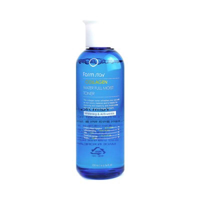 Own label brand, [FARM STAY] Collagen Water Full Moist Toner 200ml (Weight : 278g)