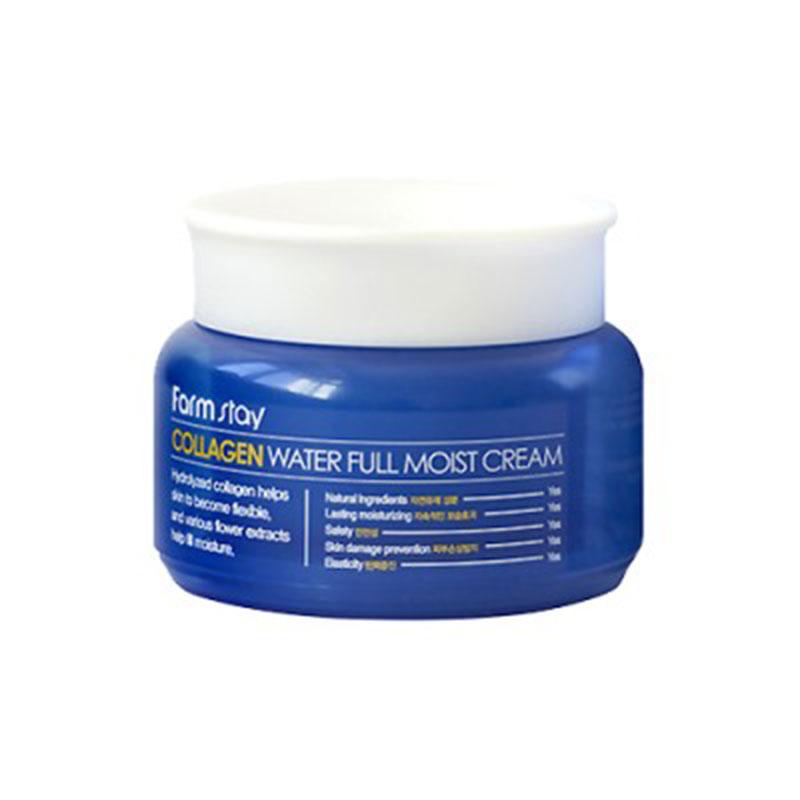 Own label brand, [FARM STAY] Collagen Water Full Moist Cream 100g (Weight : 205g)