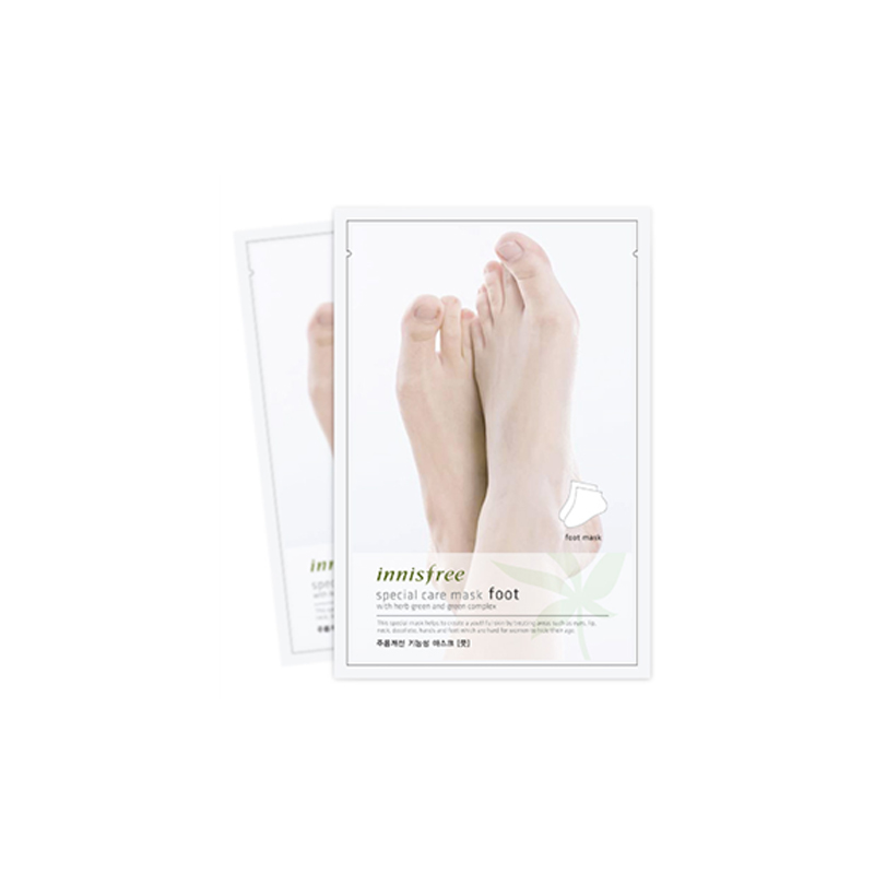 Own label brand, [INNISFREE] Special Care Mask [Foot] 20g (Weight : 32g)