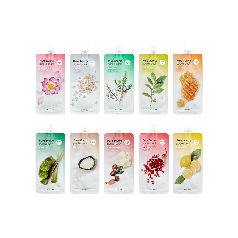 Own label brand, [MISSHA] Pure Source Pocket Pack 10ml 9 Type (Weight : 15g)