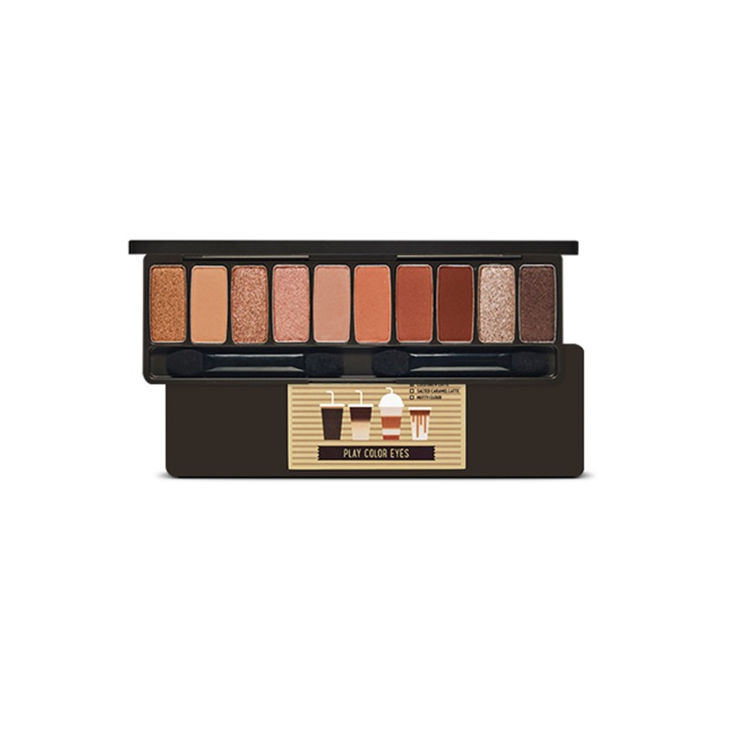 Own label brand, [ETUDE HOUSE] Play Color Eyes #Caffeine Holic 0.8g * 10ea (Weight : 95g)
