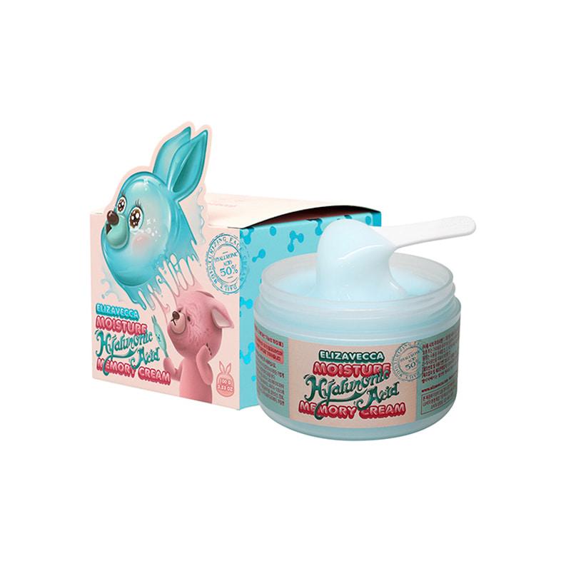 Own label brand, [ELIZAVECCA] Moisture Hyaluronic Acid Memory Cream 100g (Weight : 174g)