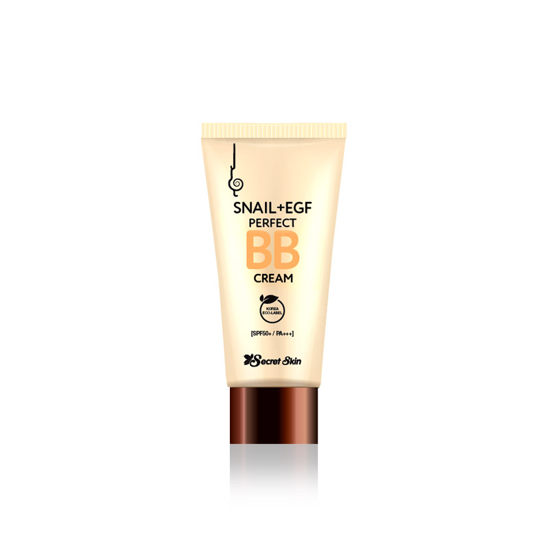 Own label brand, [SECRETSKIN] Snail+EGF Perfect BB Cream 50ml (Weight : 74g)