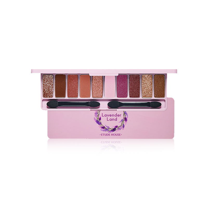 Own label brand, [ETUDE HOUSE] Play Color Eyes #Lavender Land 0.9g * 10ea (Weight : 95g)