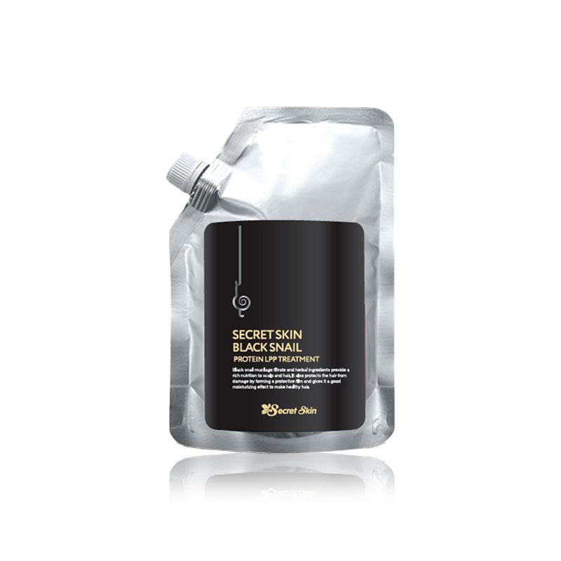 Own label brand, [SECRETSKIN] Black Snail Protein Lpp Treatment 480g (Weight : 522g)