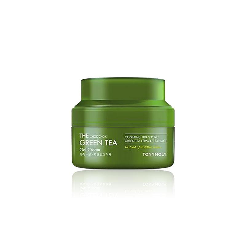 Own label brand, [TONYMOLY] The Chok Chok Green Tea Gel Cream 60ml (Weight : 163g)