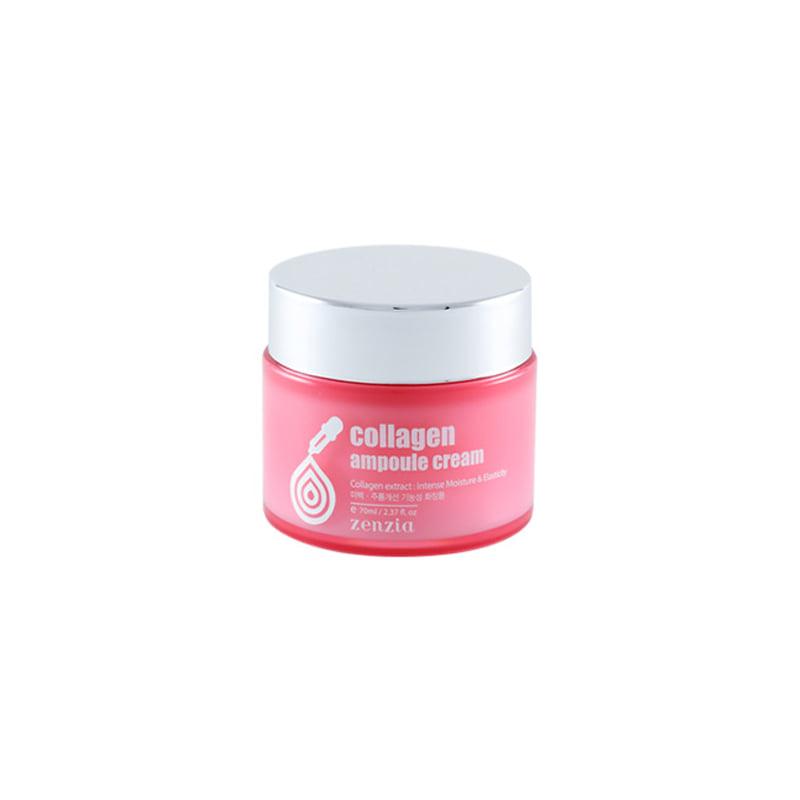 Own label brand, [ZENZIA] Collagen Ampoule Cream 70ml (Weight : 197g)
