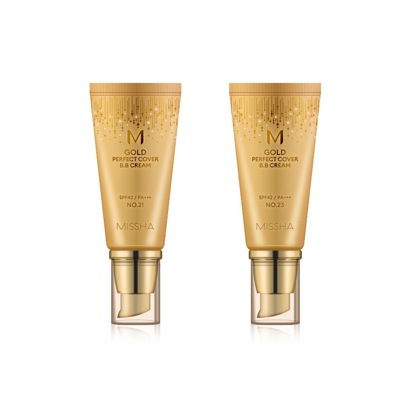 Own label brand, BIG SALE - [MISSHA] M Gold Perfect Cover B.B Cream (SPF42/PA+++) 2 Color 50ml (Weight : 95g)