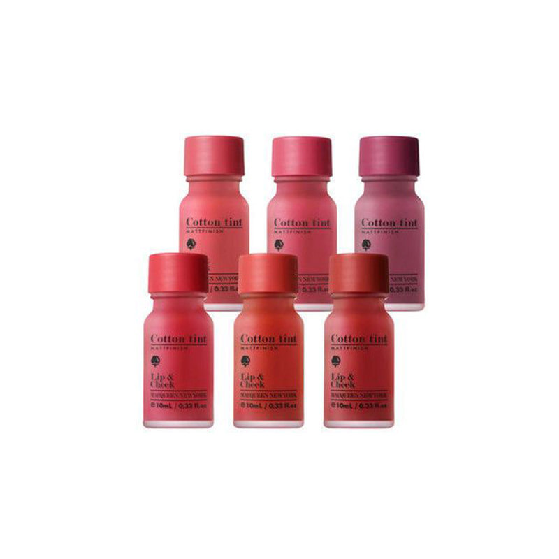 Own label brand, [MACQUEEN NEW YORK] Air Cotton Tint 10ml 6 Color (Weight : 43g)
