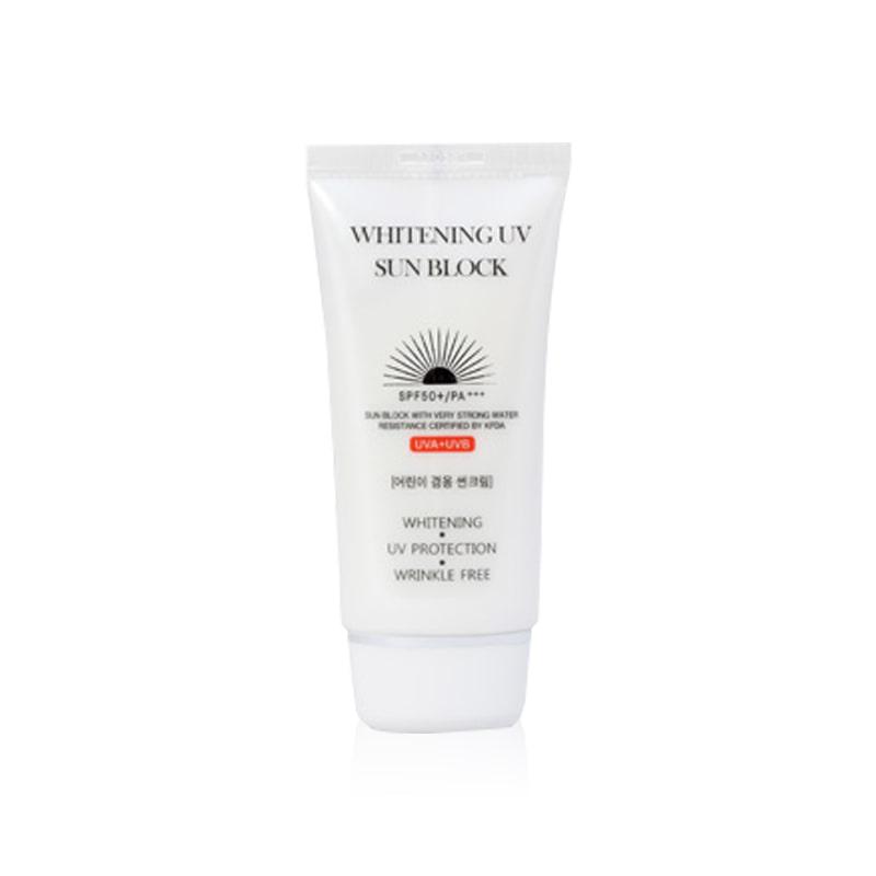 Own label brand, [JIGOTT] Whitening UV Sun Block 70ml (Weight : 99g)