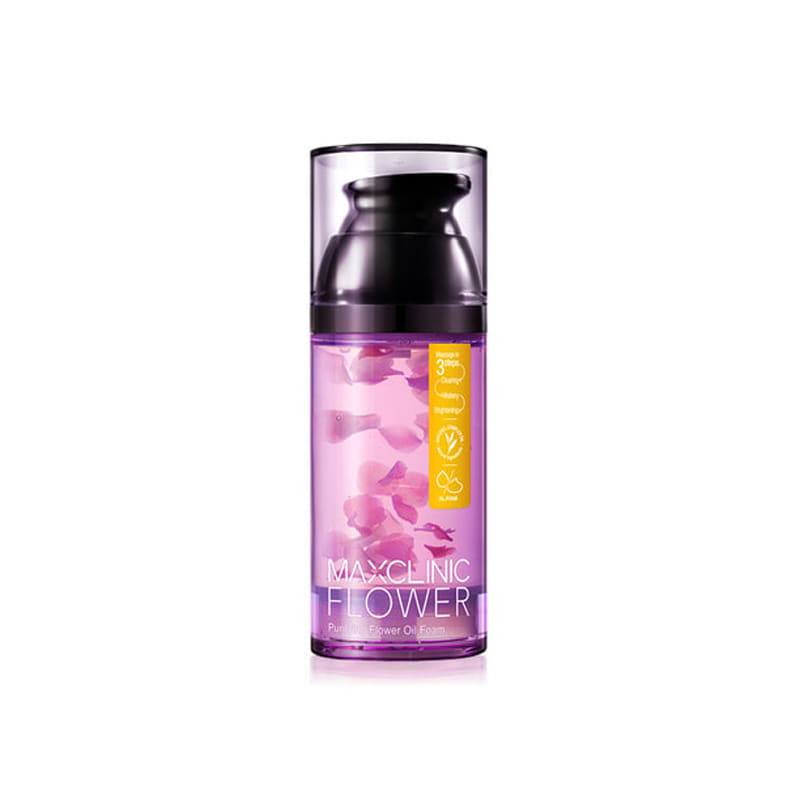 Own label brand, [MAXCLINIC] Purifying Flower Oil Foam 110g (Weight : 246g)