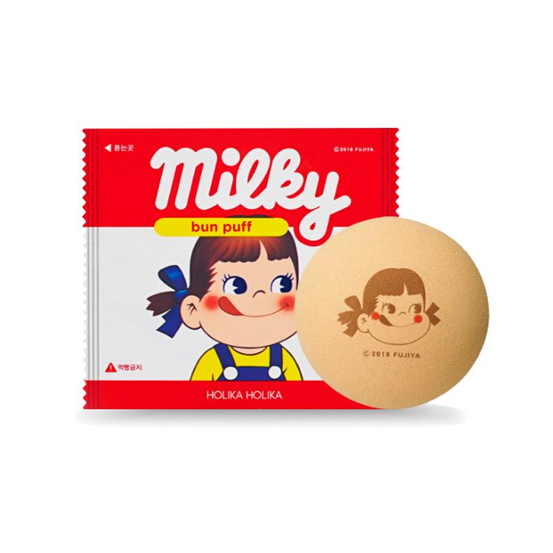 Own label brand, [HOLIKA HOLIKA] Milky Bun Puff 1ea (Weight : 12g)