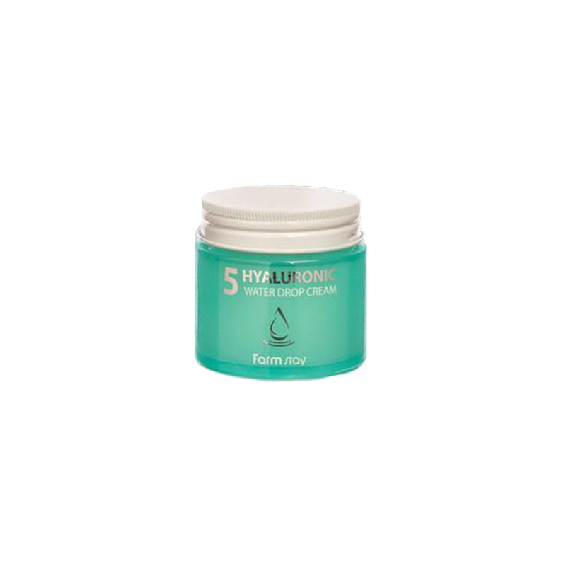 Own label brand, [FARM STAY] Hyaluronic5 Water Drop Cream 80ml (Weight : 249g)