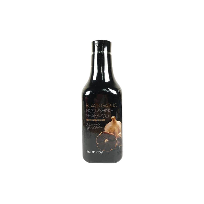 Own label brand, [FARM STAY] Black Garlic Nourishing Shampoo 530ml (Weight : 670g)