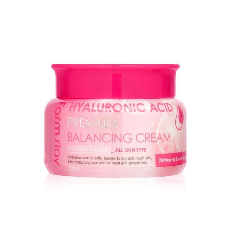 Own label brand, [FARM STAY] Hyaluronic Acid Premium Balancing Cream 100g (Weight : 202g)