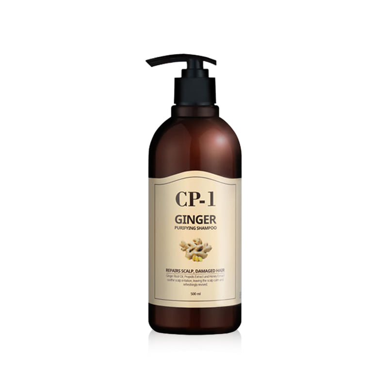 Own label brand, [CP-1] Ginger Purifying Shampoo 500ml (Weight : 608g)