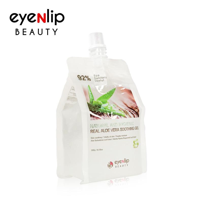 Own label brand, [EYENLIP] 92% Real Aloe Vera Soothing Gel 300g (Weight : 323g)