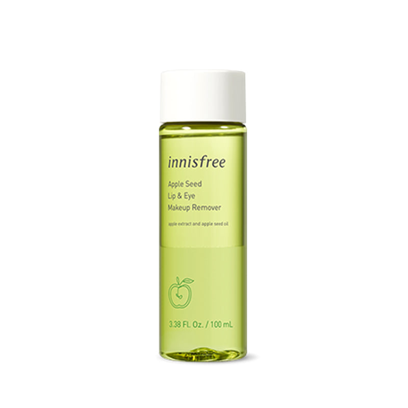 Own label brand, [INNISFREE] Apple Seed Lip & Eye Remover 100ml / Clean and healthy  (Weight : 126g)
