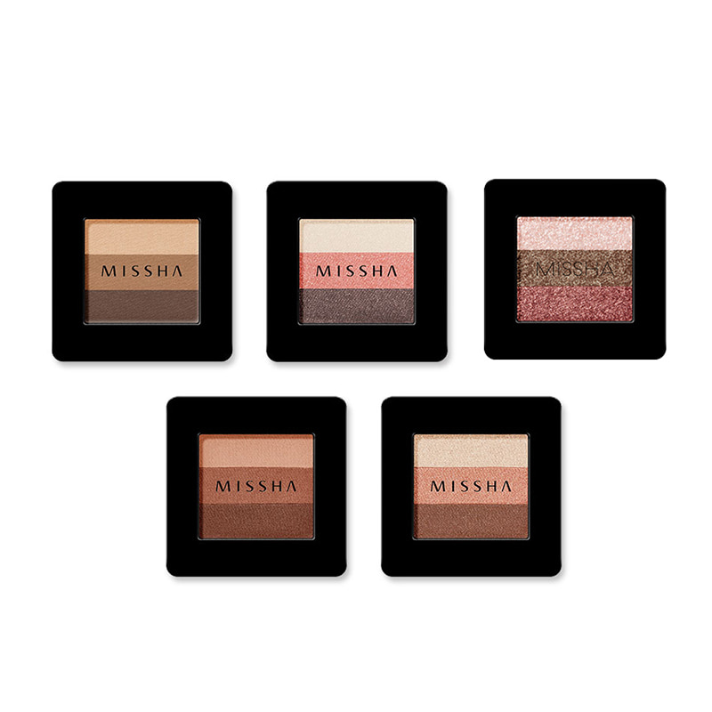 Own label brand, [MISSHA] Triple Shadow 2g 5 Color (Weight : 18g)