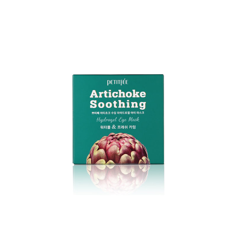 Own label brand, [PETITFEE] Artichoke Soothing Hydrogel  Eye Mask 84g (Weight : 177g)