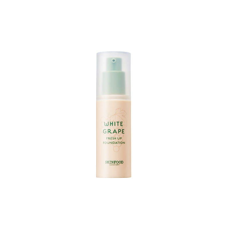 Own label brand, [SKINFOOD] White Grape Fresh Up Foundation 30ml 4 Color (Weight : 67g)