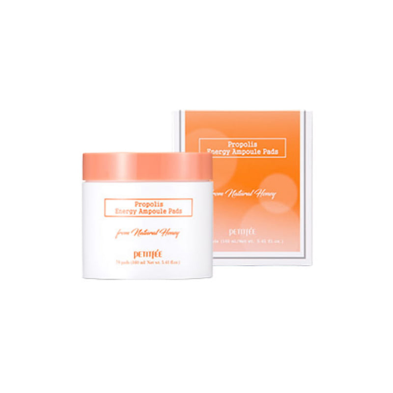 Own label brand, [PETITFEE] Propolis Energy Ampoule Pads 160ml (Weight : 294g)