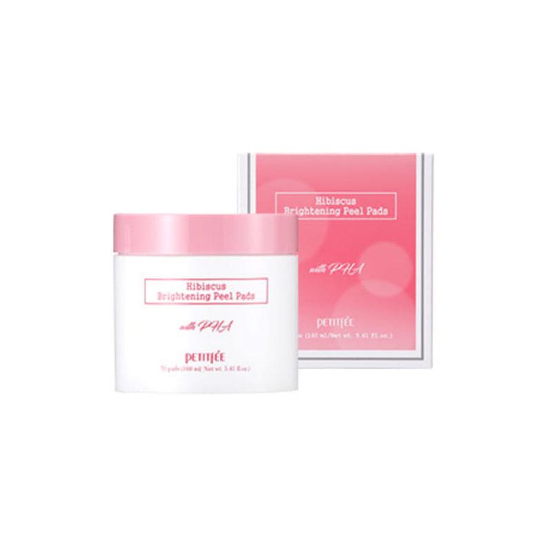 Own label brand, [PETITFEE] Hibiscus Brighting Peel Pads 160ml (Weight : 299g)