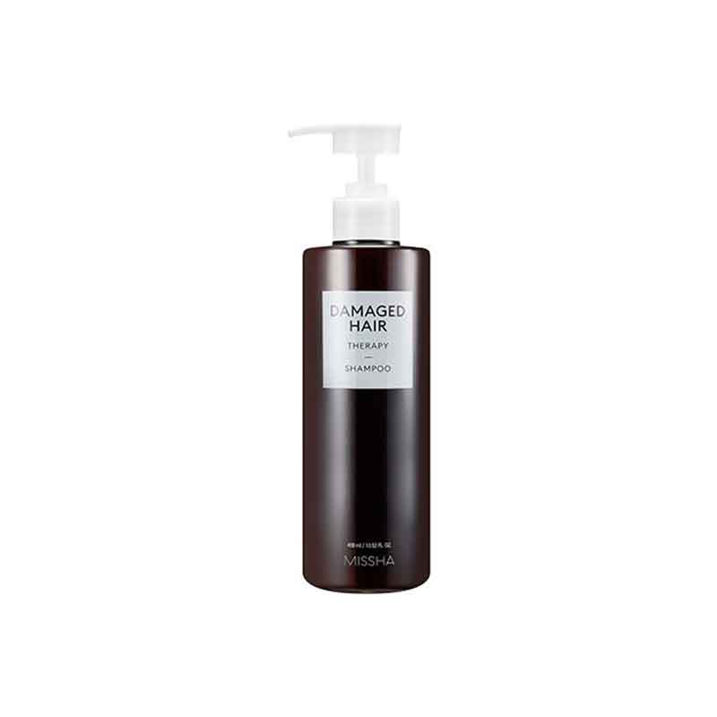 Own label brand, [MISSHA] Damaged Hair Therapy Shampoo 400ml (Weight : 503g)