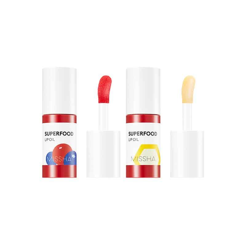 Own label brand, [MISSHA] Superfood Lip Oil 5.2g 2 Type (Weight : 32g)