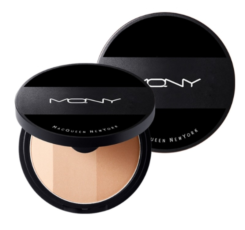 Own label brand, [MACQUEEN NEW YORK] Fake Up 3 Color Shading 9g  (Weight : 53g)