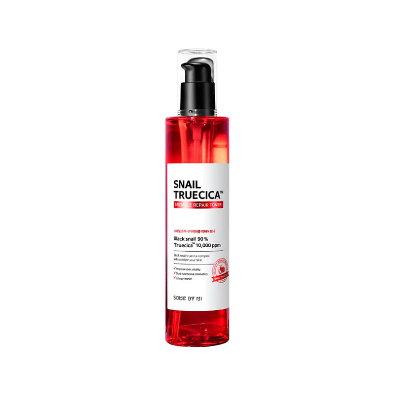 Own label brand, [SOME BY MI] Snail Truecica Miracle Repair Toner 135ml (Weight : 222g)