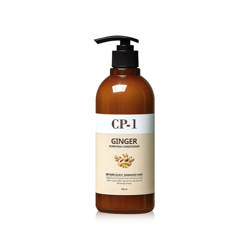 Own label brand, [CP-1] Ginger Purifying Conditioner 500ml (Weight : 581g)